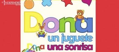 """Invitan a la comunidad a participar en 2da edición de """"Dona un juguete dona una sonrisa"""""""