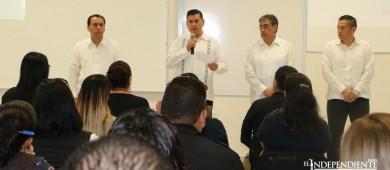 Presentan en PGJE, al nuevo encargado de la dependencia Daniel De la Rosa Anaya