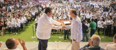 """Mi lealtad partidista no """"riñe"""" con mi amistad con Meade: Carlos Mendoza"""