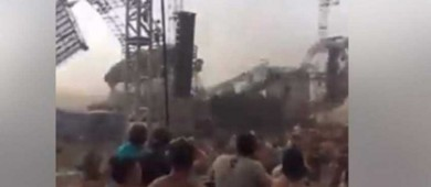 Viento derriba escenario en el Atmosphere Festival y mata a DJ