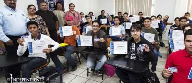 Finaliza Tránsito Municipal curso de intensivo de educación vial para adolescentes