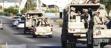 Arriban 750 militares más al municipio de La Paz