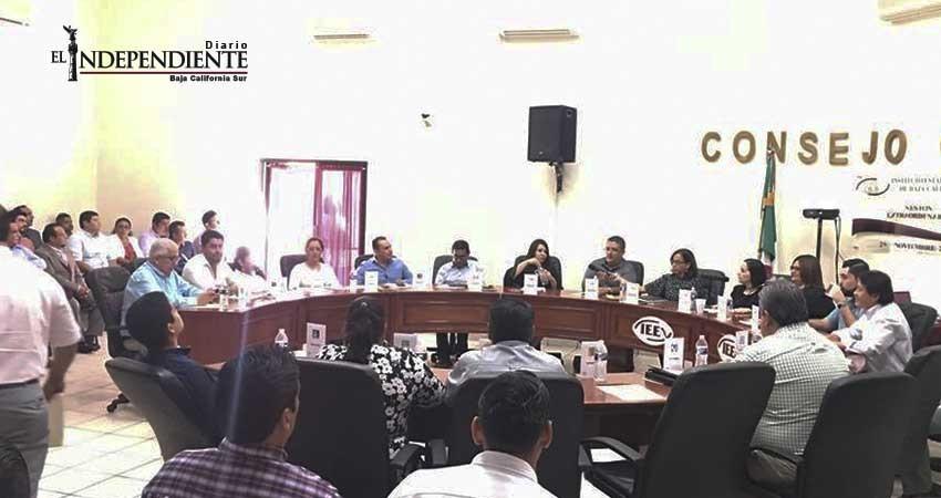 Se instala Consejo General del IEE; inicia proceso local electoral