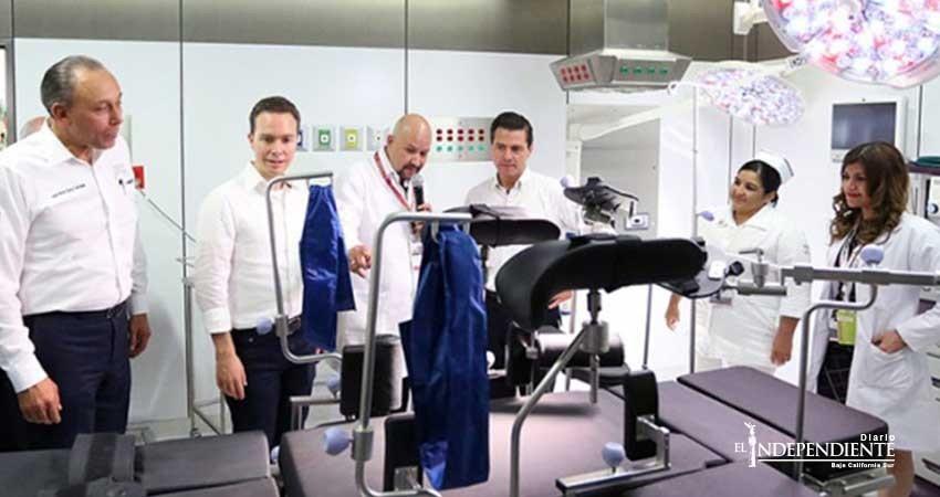 Peña Nieto y Reyes Baeza entregan nuevo hospital del ISSSTE en Chiapas