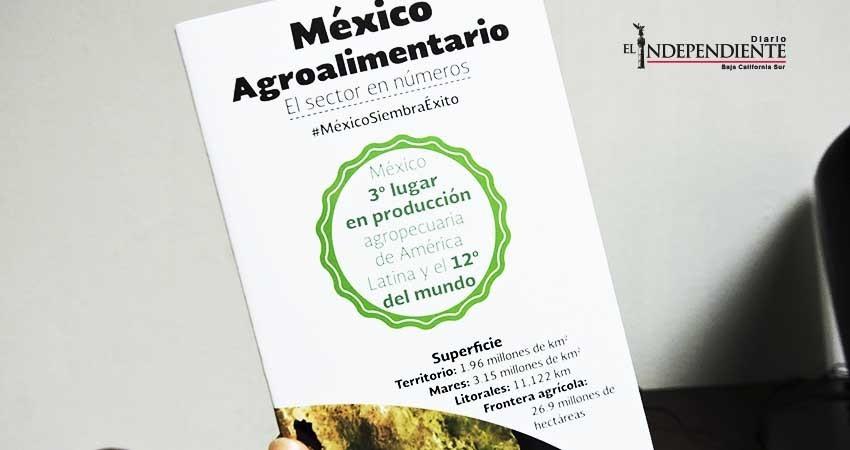 Listo Baja California Sur para la Expo México Alimentaria