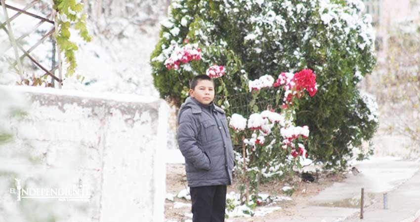 Suspenden oficialmente clases por frío en Chihuahua