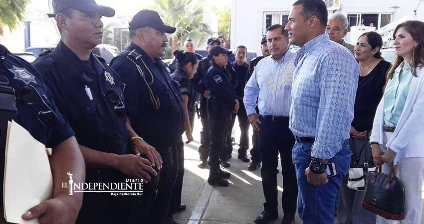 Hay plena voluntad del nuevo director de la policía por entregar buenos resultados: alcalde