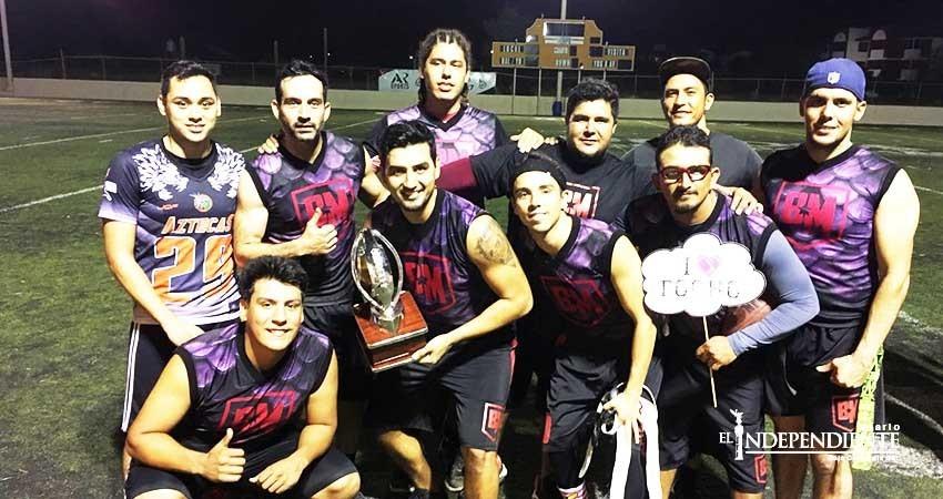 La Liga Sudcaliforniana de Flag ya tiene campeones varoniles