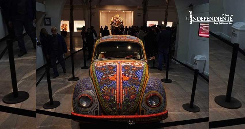 Artista italiano Tarshito rinde tributo a la cultura huichola
