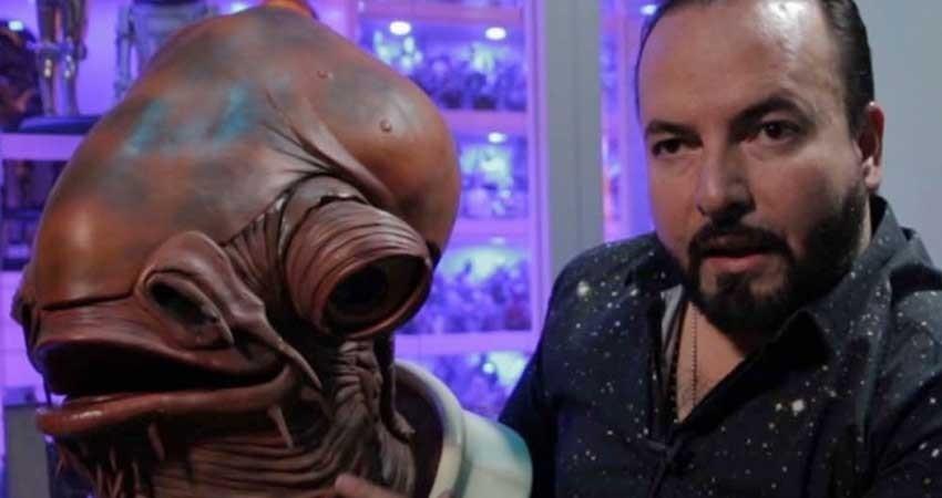 El coleccionista que se rindió ante el poder de Star Wars