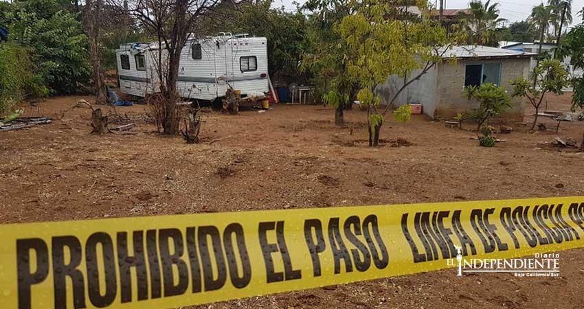Rafaguean vivienda y un camper  en la comunidad de La Playa