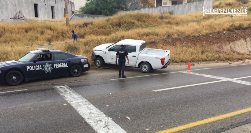 Pavimento mojado ocasiona múltiples choques en San José del Cabo