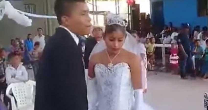 La boda infeliz: la pareja 'más triste de México'