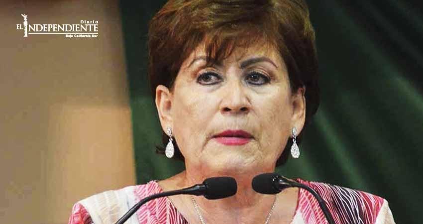 Antes se podía discutir con el gobernador, ahora nadie lo contradice: Rosa Delia Cota