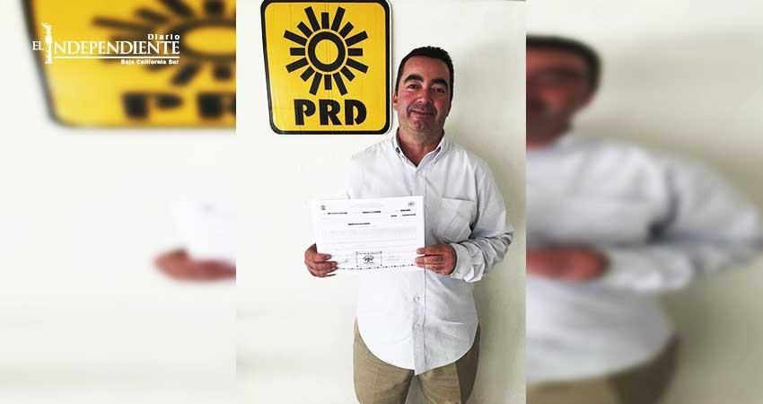 Raúl Verdugo es precandidato por el Distrito I por el PRD