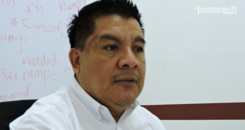 Alberto Rentería irá por la candidatura al Ayuntamiento de La Paz