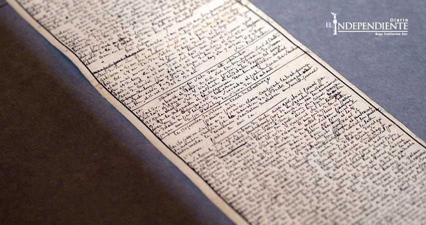 Francia declara tesoro nacional manuscrito de 'Los 120 días de Sodoma'