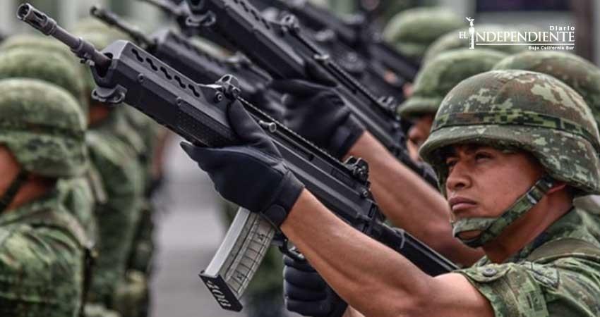 Ejército no busca control en la política: Armando Luna