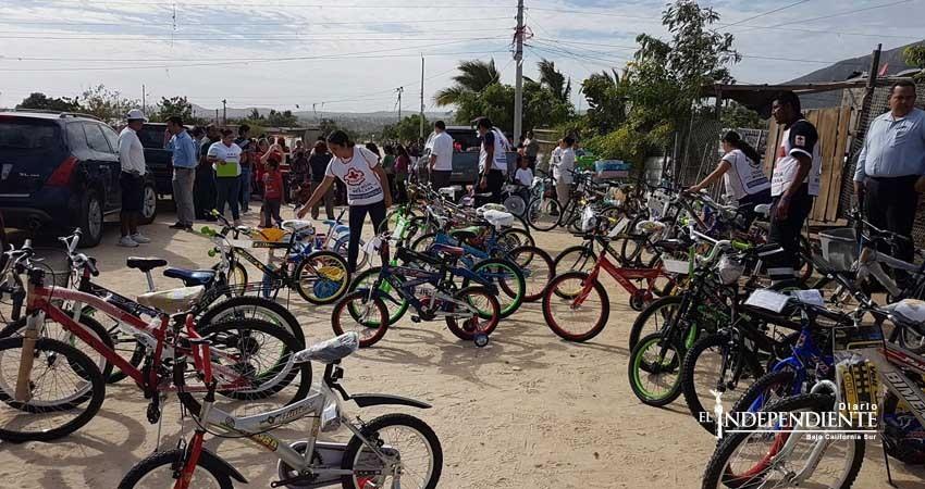 Realizó Cruz Roja Los Cabos entrega de juguetes a niños de escasos recursos