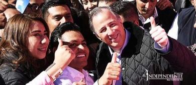 Meade aborda ante jóvenes de Hidalgo la necesidad de inclusión social