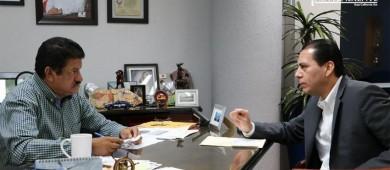 Acuerdan Procurador de justicia y alcalde de La Paz coordinación en beneficio de los habitantes de La Paz
