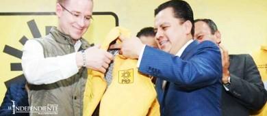 Arropan corrientes perredistas a Ricardo Anaya