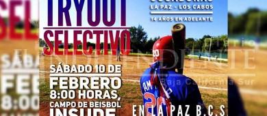 Realizarán Try-Out para selectivo femenil de béisbol