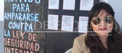 Recolectan firmas para amparo colectivo contra la Ley de Seguridad Interior