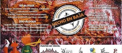 """Se realizará 1ra edición del festival de artes escénicas de Los Cabos, """"Hecho en Baja"""""""