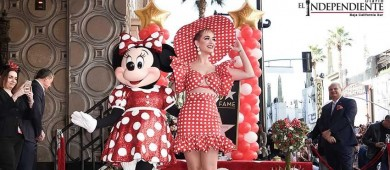 Minnie Mouse recibe su estrella en el Paseo de la Fama Hollywood
