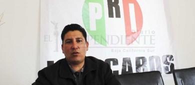 En el PRI mantenemos trabajo interno y conforme a los tiempos, asegura líder en Los Cabos