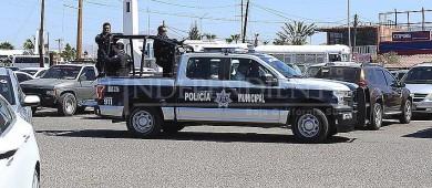 Comerciantes se sienten desprotegidos ante la falta de elementos policiacos
