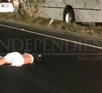 Tragedia en CSL; muere mujer al ser atropellada