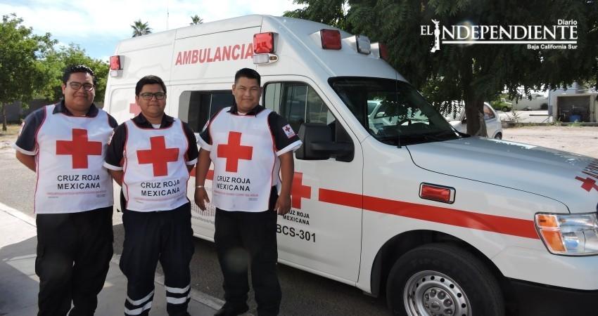 Operativo decembrino de Cruz Roja La Paz atendió cerca de 70 casos