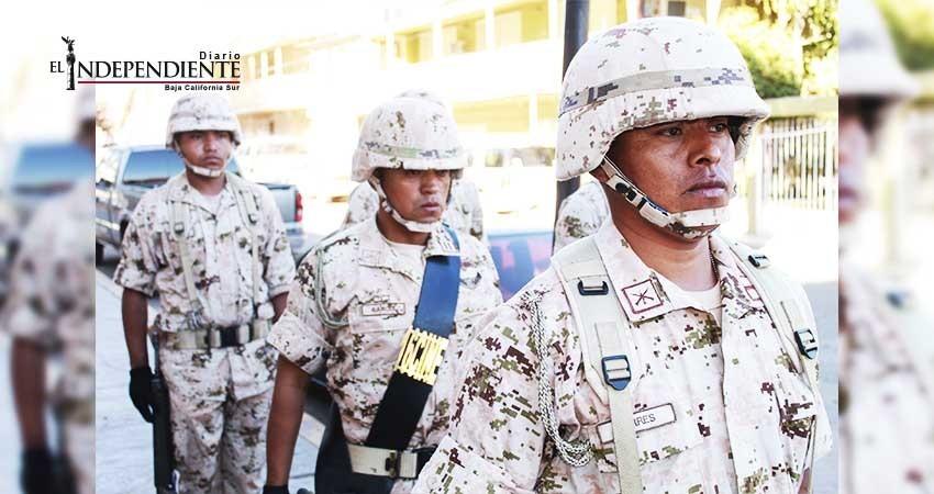Solicitan personal en la 40/a zona militar de Guerrero Negro