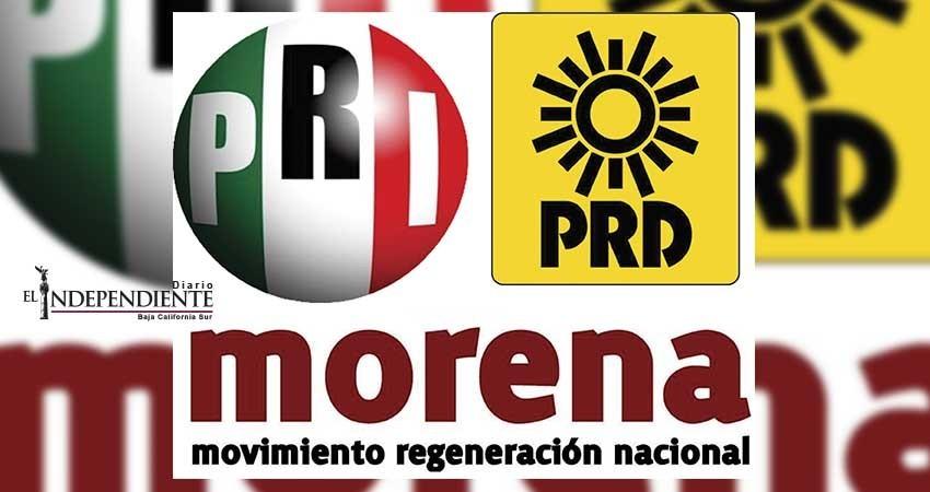 Viven Morena, PRI y PRD en la opacidad