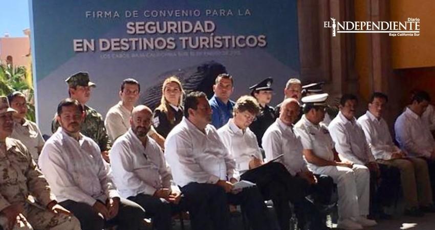 Se firmó el Convenio por la Seguridad en destinos turísticos