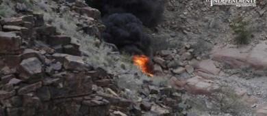 Tres muertos al caer helicóptero en el Gran Cañón