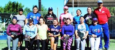 Realizan el segundo Try Out Femenil de Béisbol