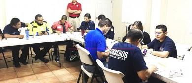 Bomberos se capacitan en Gestión Integral de Riesgos avalados por la Agencia de Desastres de EEUU