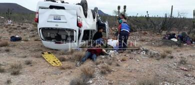 Se accidenta caravana donde viajaba la pre candidata independiente Marichuy