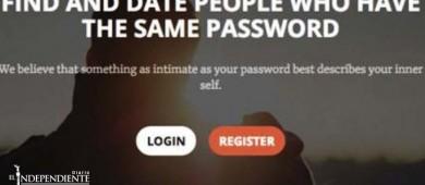Esta app de citas une a personas con la misma contraseña