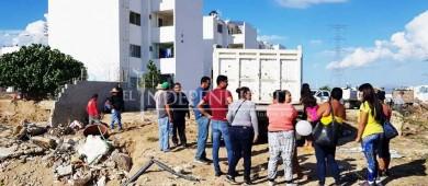 Asegura gobierno buscar reserva territorial para reubicación de afectados en Chula Vista y Puerto Nuevo