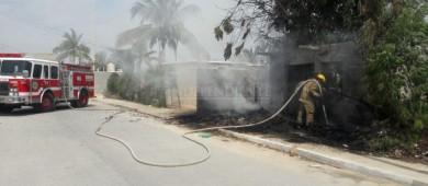La constante… Enésimo incendio en un domicilio de SJC