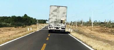 """""""Se debe de ampliar el tramo carretero San Ignacio-Guerrero Negro"""": Dip. Vargas Aguiar"""
