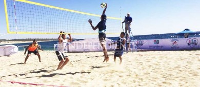 Anuncian Torneo de voleibol de playa en Los Barriles