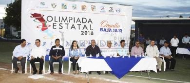 Inauguran la 3ra Etapa de la Olimpiada Estatal 2018 1