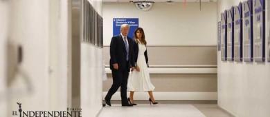 Visita Trump a sobrevivientes de masacre en Florida