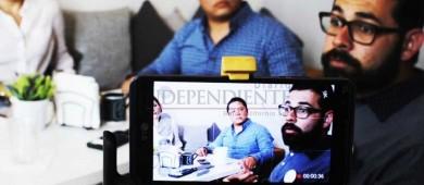 Aspirante a candidato para diputado por el Distrito 1 sostiene acercamiento con medios