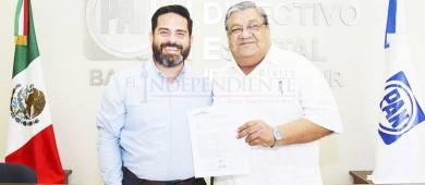 Repite Carlos Rochín como aspirante a diputado local plurinominal